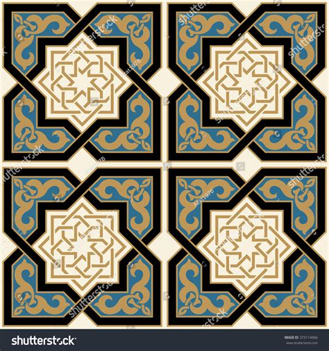 traditional islamic pattern vector arabic seamless pattern traditional islamic design stock