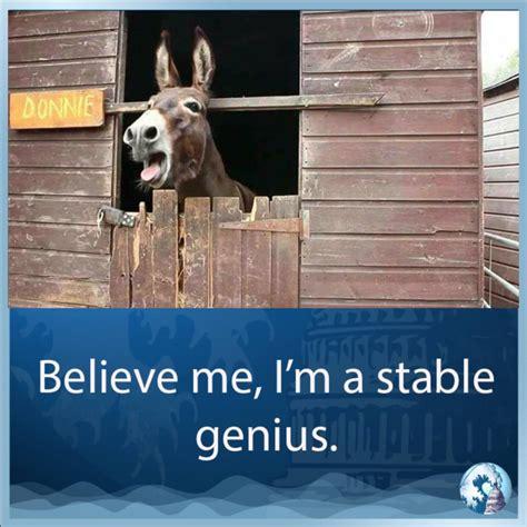 Stable Genius Meme the 30 funniest memes mocking s stable genius