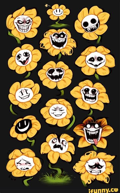libro the path to genocide theory the reason flowey can change what his face looks like is because of sans spoilers