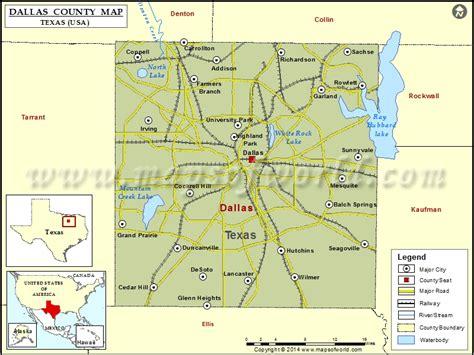 dallas usa map dallas county map map of dallas county