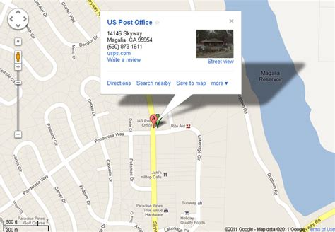 map us post office paradise magalia the safor corporation