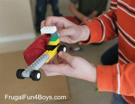 Lego fun friday balloon powered car building challenge