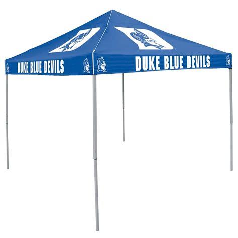 Canopy Logo Duke Tent W Blue Devils Logo 9 X 9 Solid Color Canopy