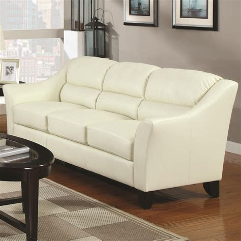 ivory leather couches 1000 ideas about leather sofa on