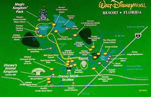 map of hotels in disney world map travel