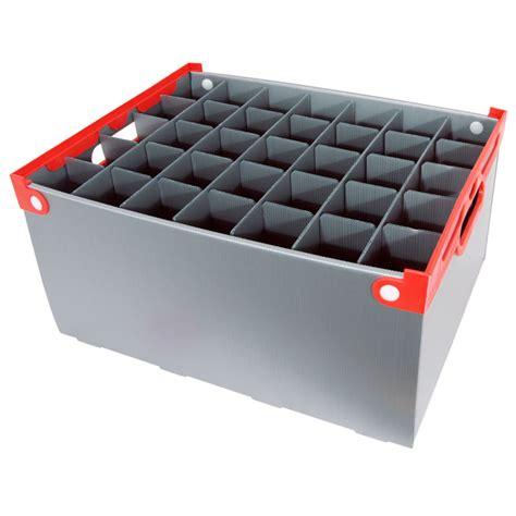 barware storage wine glass storage box 35 cell 240mm high wineware co uk