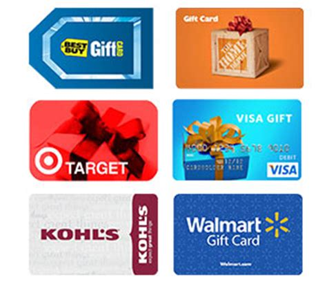 Purchase Gift Cards With Credit Card - image gallery store cards