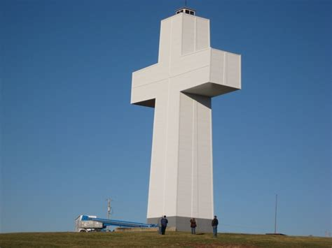 Bald Knob Cross Of Peace by Shawnee National Forrest Page 3 Advrider