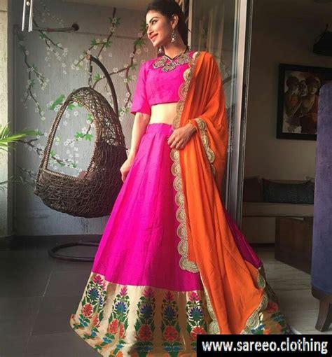 nagin 2 serial moni roy sari hd image mouni roy lehenga wear in nagin serial