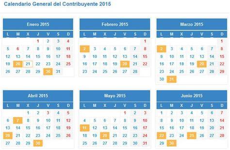 calendario del contribuyente calendario agencia tributaria disponible el calendario del contribuyente de la agencia