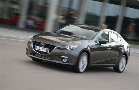 brand new mazda 3 all new mazda3 sedan and hatch to make european debut in