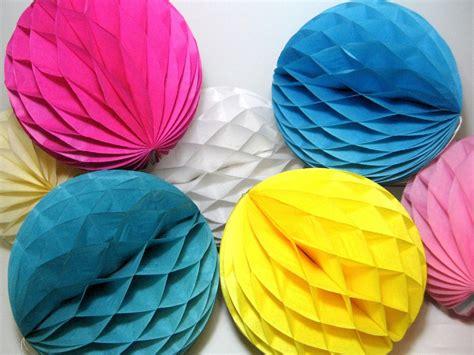 Handmade Tissue Paper - 50pcs 12 quot 30cm handmade tissue paper honeycomb balls