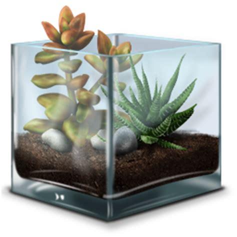 succulent terrarium icon terrarium iconset greg barnes