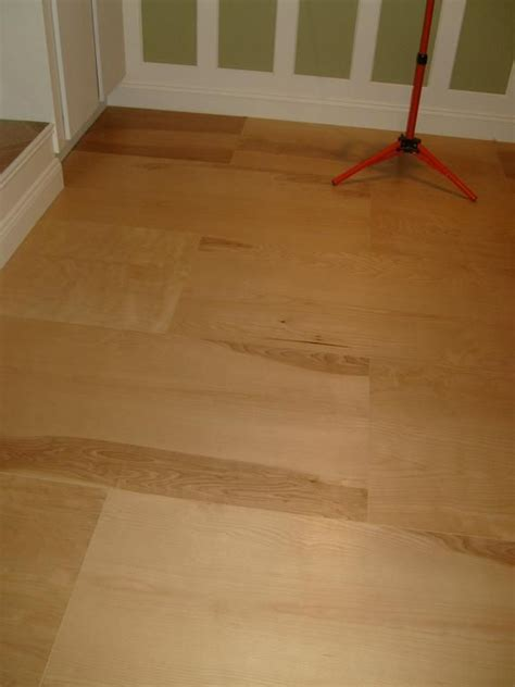 Stained Plywood Floor by Plywood For Flooring Diy Home