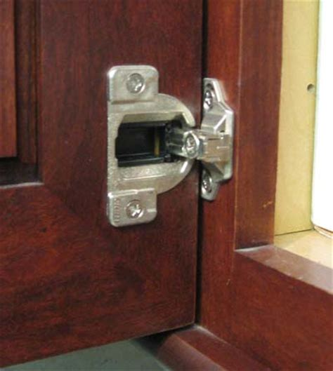 How To Adjust Hinges On Kitchen Cabinets Wood Mode Cabinet Hinge And Adjustment Better Kitchens