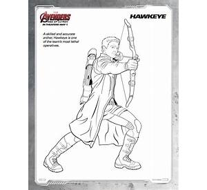 avengers hawkeye coloring page free printable coloring pages - Hawkeye Coloring Pages