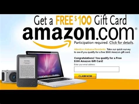 Free 100 Amazon Gift Card No Survey - how to get free 100 amazon gift card no survey 2018 youtube