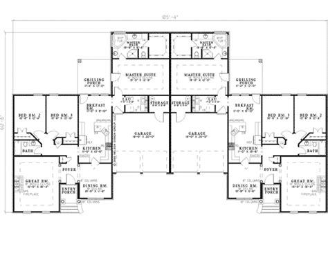ranch duplex floor plans la belle park ranch duplex plan 055d 0358 house plans