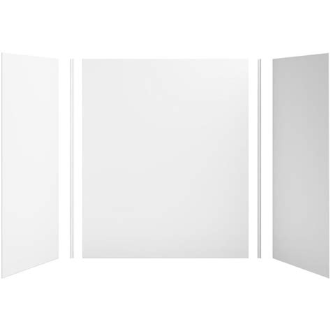 Kohler Shower Panels by Shop Kohler Choreograph White Shower Wall Surround Side