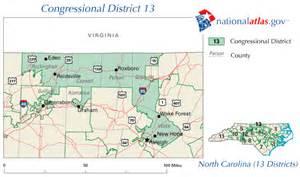 carolina congressional district map carolina district 13 112th congress map and