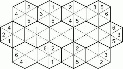 printable hexagon puzzle hexagon numeric numeric and logic puzzles