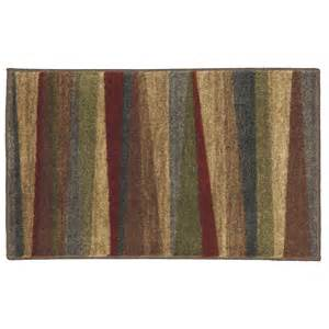 mohawk throw rugs shop mohawk home brown rectangular indoor tufted throw rug