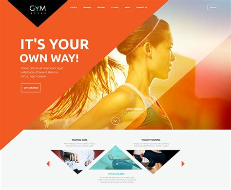 wordpress themes free graphic designer 20 creative wordpress themes utilizing geometric shapes