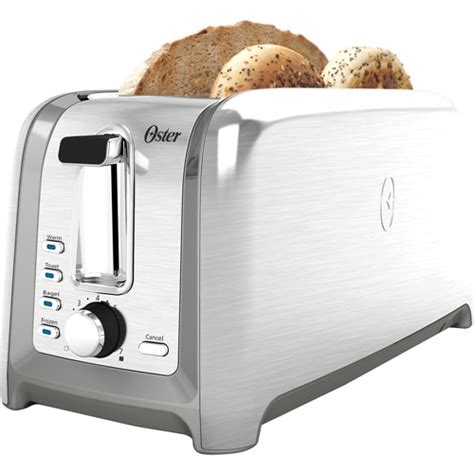 Walmart Toasters 4 Slice oster designed for 4 slice toaster brushed stainless
