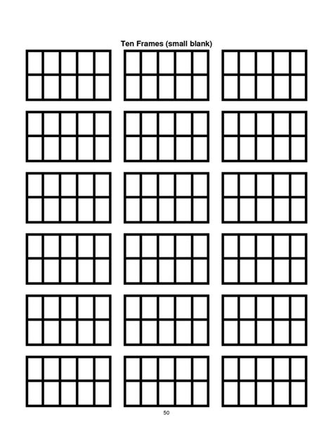 10 frame template printable 1000 images about ten frame math talk on