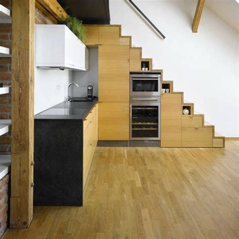 Kitchen Stairs Design 42 Stairs Storage Ideas For Small Spaces Your House Stand Out Architecture Design