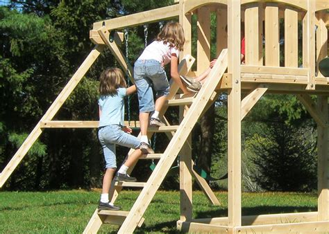 plastic coated wood swing set swing sets features play benefits triumph play systems