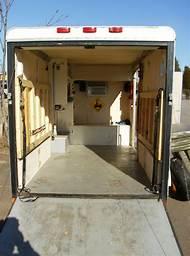 6X12 Enclosed Cargo Trailer Camper Conversion