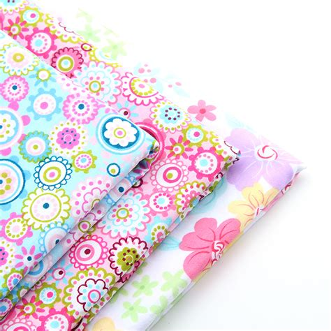 Floral Patchwork Fabric - 2016 new floral style patchwork cotton fabric quarters