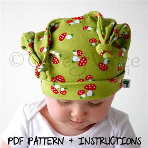 jersey hat pattern baby hat instructions pdf pattern childrens stretchy
