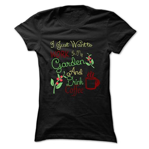 But Coffee Tshirt t shirt gardening and drink coffee