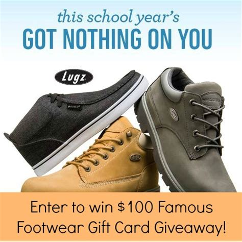 Famous Footwear Gift Card - 100 famous footwear gift card giveaway closed