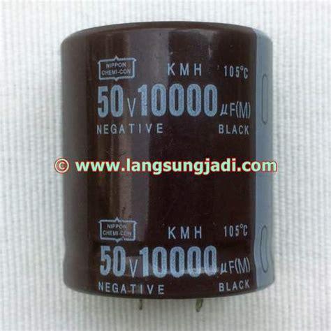 Elco 220200v Nipon Cemicon 10000uf 50v nippon chemi con kmh electrolytic capacitor