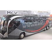 Mercedes Benz MCV 600 Bus Exterior And Interior In 3D 4K