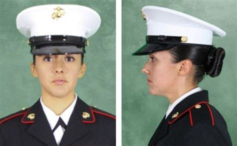 female regulations marine corps presentation womens dress blues marines with simple picture in