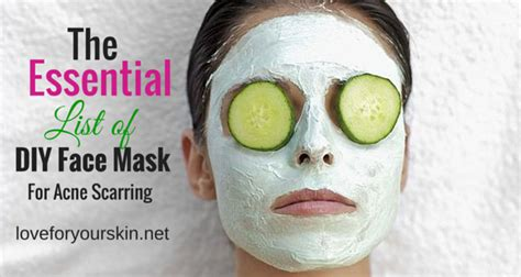diy mask for acne scars diy mask archives page 2 of 2 loveforyourskin net