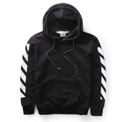 Hodie Black 1 white plain hoodie black