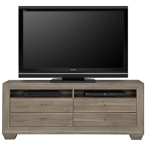 "City Furniture: Adele2 Light Tone 70"" TV Stand"
