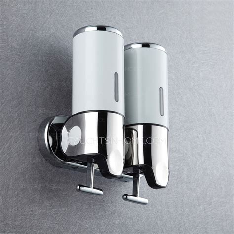 Touchless Faucets Kitchen commercial stainless steel double wall soap dispensers