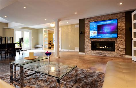 Inexpensive Kitchen Remodeling Ideas open concept basement ideas basement toronto by