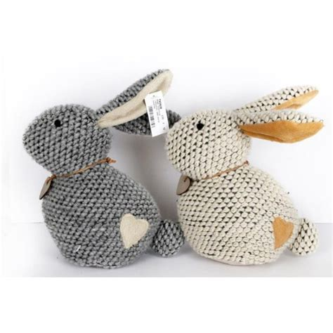 knitting pattern house door stop knitted rabbit door stop novelty weighted stopper animal