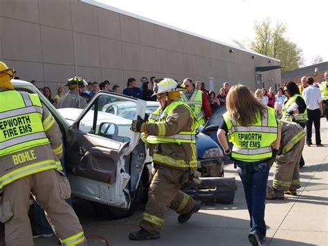 wd mock disaster motor vehicle collision epworth