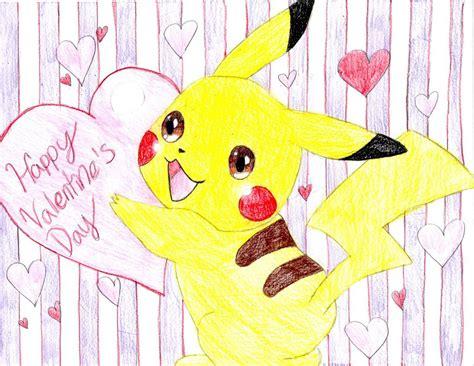 pikachu valentines day s day pikachu by emogirl1147 on deviantart