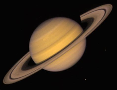 why is there no on saturn saturn