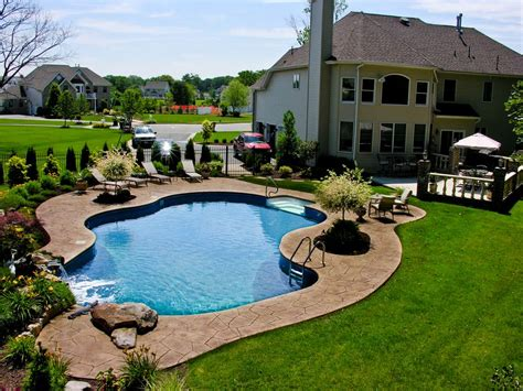 backyard with pool landscaping ideas backyard pool landscaping ideas pictures