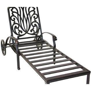 chaises elisabeth heritage outdoor living b00ni7kkma cast aluminum elisabeth outdoor patio chaise lounge with